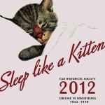 Chessie Kitten 2012 Calendar