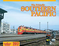 2012 Friendly Southern Pacific Calendar