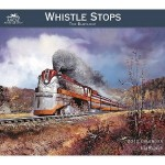 2012 Ted Blaylock - Whistle Stops Wall Calendar