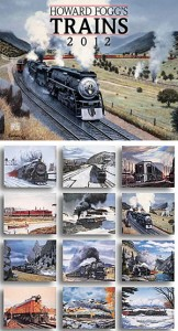 Howard Fogg's Trains 2012 Calendar