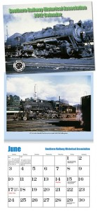 Southern Railway Historical Association 2012 Calendar