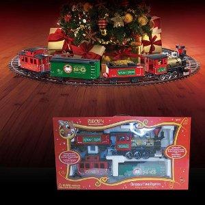 Peachy Christmas Train Sets For Under The Tree Easy Diy Christmas Decorations Tissureus