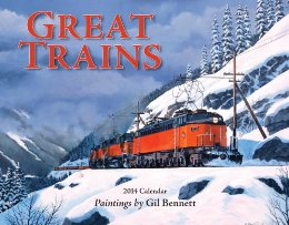 Great Trains 2014 Calendar