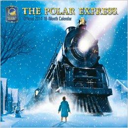 2014 Polar Express calendar