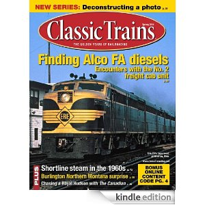 Classic Trains Kindle