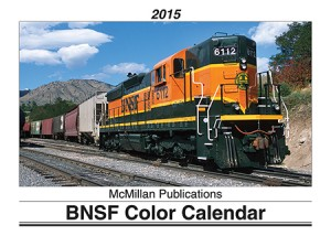 BNSF 2015 Color Calendar