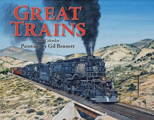 Great Trains 2015 Calendar