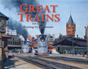 Great Trains 2016 Calendar