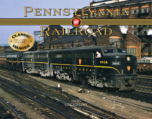 "Featuring a stunning variety of vintage photography, this 2016 calendar includes numerous images from the ""Standard Railroad of the World."" 14""x 11"". Price: $14.95."