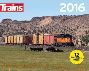 Trains Magazine 2016 Calendar