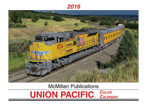 Union Pacific 2016 Calendar