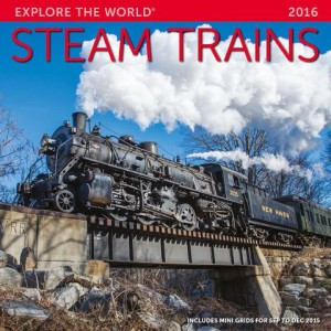 Steam Trains 2016 Calendar
