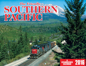 Friendly Southern Pacific 2016 Calendar